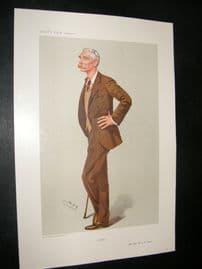 Vanity Fair Print 1906 Major-General Sir R.B. Lane