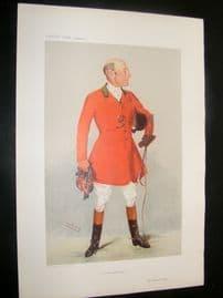Vanity Fair Print 1906 Reginald Corbet, Fox Hunter
