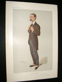 Vanity Fair Print 1906 Sir W. S. Robson
