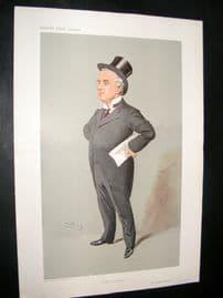 Vanity Fair Print 1907 Charles Russell