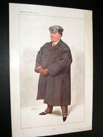 Vanity Fair Print 1907 Frederic Abernethy Coleman, Automobiles