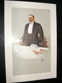 Vanity Fair Print 1907 General Botha