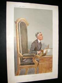 Vanity Fair Print 1907 Henry Chartres Biron, Legal