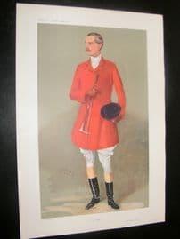 Vanity Fair Print 1907 Lord Southampton, Fox Hunter