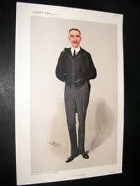 Vanity Fair Print 1908 Charles Bright