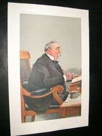 Vanity Fair Print 1908 Edward Snow Fordham, Caricature