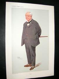 Vanity Fair Print 1908 Lord Burton