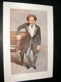 Vanity Fair Print 1908 Mark Hambourg, Music