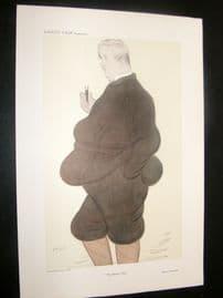 Vanity Fair Print 1908 Maurice Maeterlinck, Literary. Belgium. Beerbohm