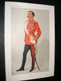 Vanity Fair Print 1908 Sir Arthur Henry Paget