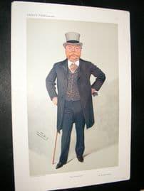 Vanity Fair Print 1908 Sir Christopher Furness