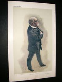 Vanity Fair Print 1908 The Little Great Premier