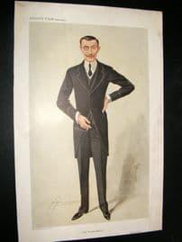 Vanity Fair Print 1909 Baron George De Reuter