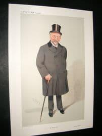 Vanity Fair Print 1909 Sir Horace Regnart