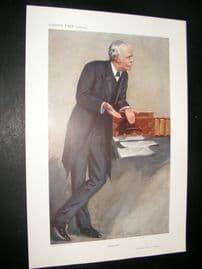 Vanity Fair Print 1910 Arthur. Balfour, Prime Minister