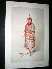 Vanity Fair Print 1910 Charles H. Workman, Theatre