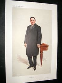 Vanity Fair Print 1910 Dr Bland Sutton