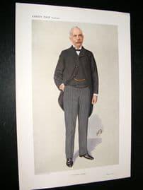 Vanity Fair Print 1910 Emile Garcke, Doctor