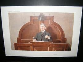 Vanity Fair Print 1910 Guy Owen, Auctioneer, Business
