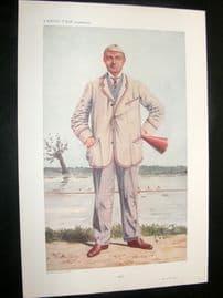 Vanity Fair Print 1910 Henry Forster, Rower