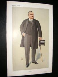 Vanity Fair Print 1910 James Richard Hennessy, Horse Trainer
