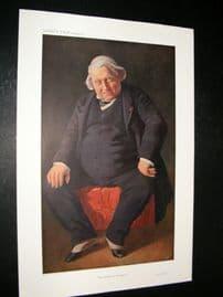 Vanity Fair Print 1910 Joseph Ernest Renan