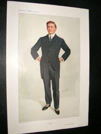 Vanity Fair Print 1910 Mr C.P Huntington, Legal