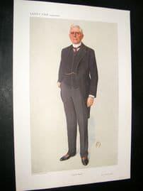 Vanity Fair Print 1910 Mr. Richard Vassar Vassar-Smith