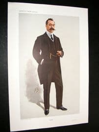 Vanity Fair Print 1910 S. B. Joel, Horse Trainer