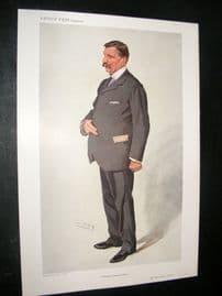 Vanity Fair Print 1910 Sir Philip Watts