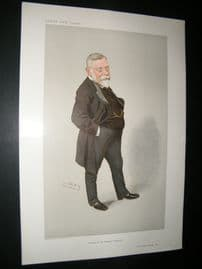Vanity Fair Print 1910 Thomas Barlow, Doctor