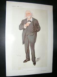 Vanity Fair Print: 1910 W. S. Simpson, Science