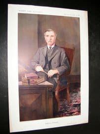 Vanity Fair Print 1911 Alfred Pearce Gould, Doctor