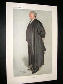 Vanity Fair Print 1911 C.C. Hutchinson, Legal