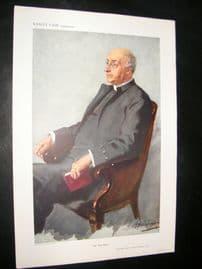 Vanity Fair Print 1911 Canon Edgar Sheppard