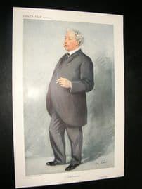 Vanity Fair Print 1911 Ernest Collins