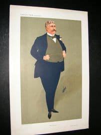 Vanity Fair Print 1911 George Joseph Edwards, Theatre