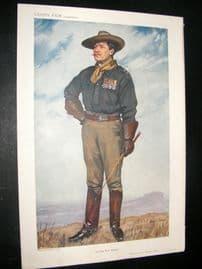 Vanity Fair Print 1911 Lt -Col D.P Driscoll