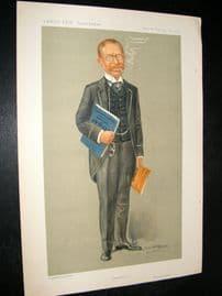 Vanity Fair Print 1911 Lucien Wolf, Newspaperman