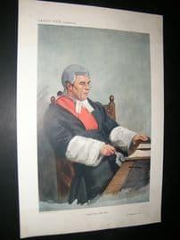 Vanity Fair Print 1911 Mr Justice Lush