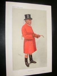 Vanity Fair Print 1911 Sir John Robinson, Foxhunter