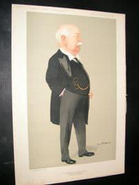 Vanity Fair Print 1912 Charles Wright Macara