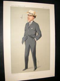 Vanity Fair Print 1912 Mr Laurence Irving, Theatre