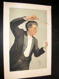 Vanity Fair Print 1912 P. Mascagni, Music