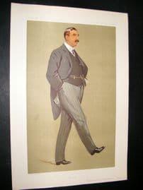 Vanity Fair Print 1912 Sir Arthur Griffith-Boscawen