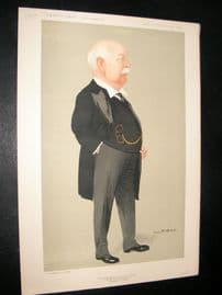 Vanity Fair Print 1912 Sir Charles Wright Macara