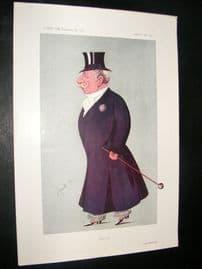 Vanity Fair Print 1913 Captain Quintin Dick