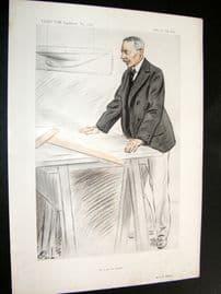 Vanity Fair Print 1913 Charles Ernest Nicholson