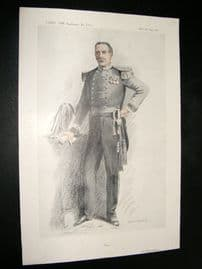 Vanity Fair Print 1913 Col Montagu Johnstone