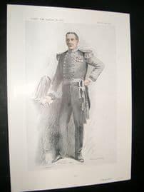 Vanity Fair Print 1913 Col. Montague Johnstone